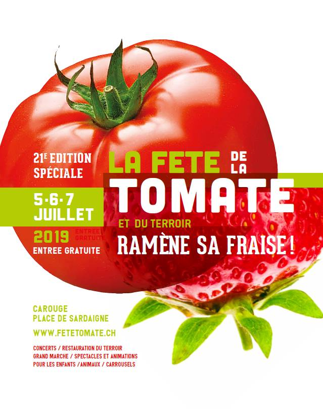 Concert à la Fête de la Tomate 2019